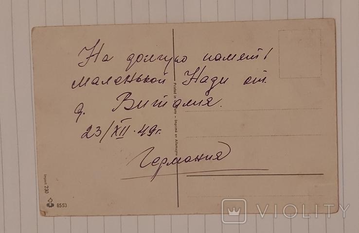"""Открытка """"Розы"""" Германия 1940-х г., фото №4"""