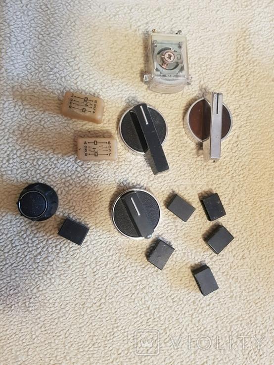 Ручки - переключатели, кнопки, фото №2