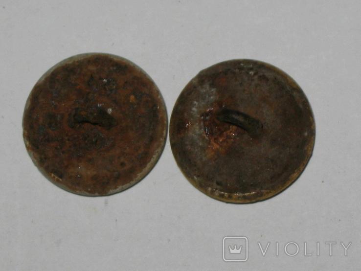 Пуговицы Лесник 2 штуки, фото №5