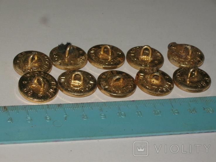 Пуговицы СССР Флот 10 штук, фото №6
