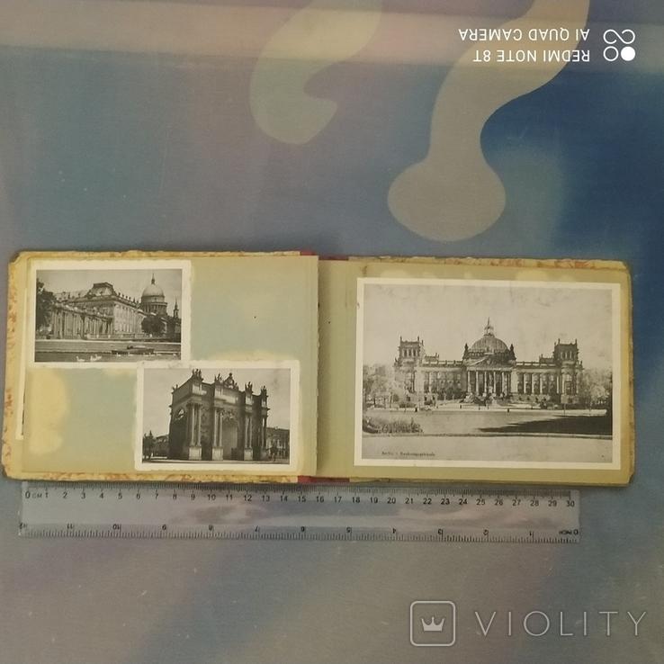 Открытки старые Берлин с альбомом 30 шт, фото №3