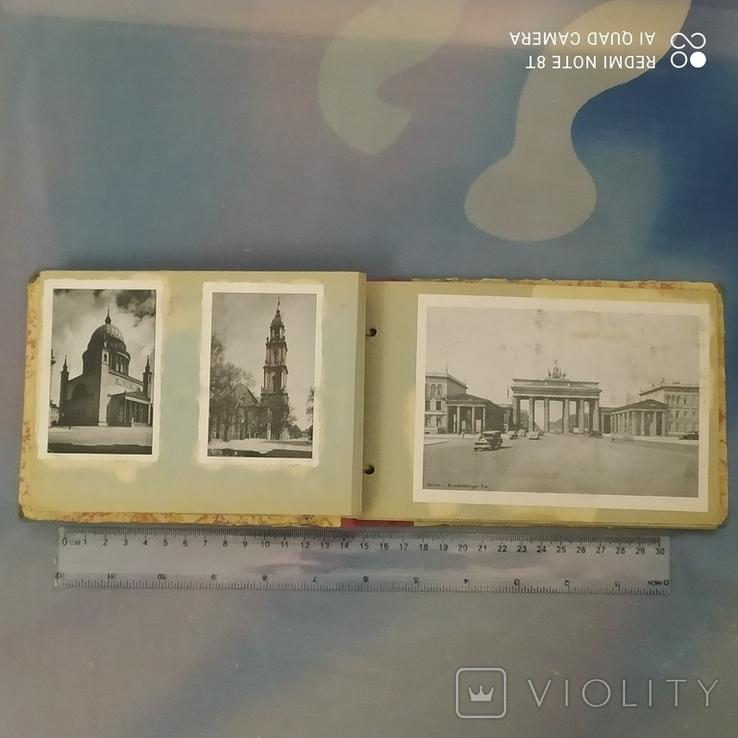 Открытки старые Берлин с альбомом 30 шт, фото №4