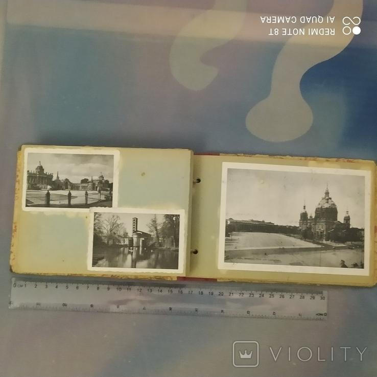Открытки старые Берлин с альбомом 30 шт, фото №5