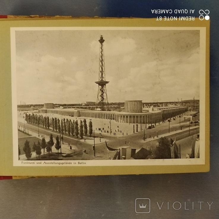 Открытки старые Берлин с альбомом 30 шт, фото №9