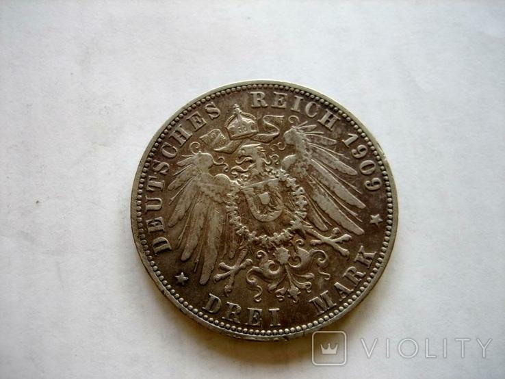 3 марки 1909 рік, фото №2