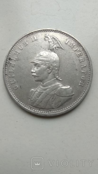 Германская Восточная Африка 1 Рупия 1899, фото №2