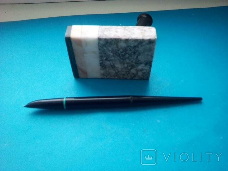 Ручка чернильная на подставке., фото №9