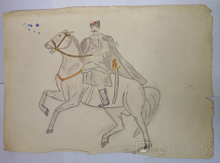 Рисунки карандашом СССР., фото №3