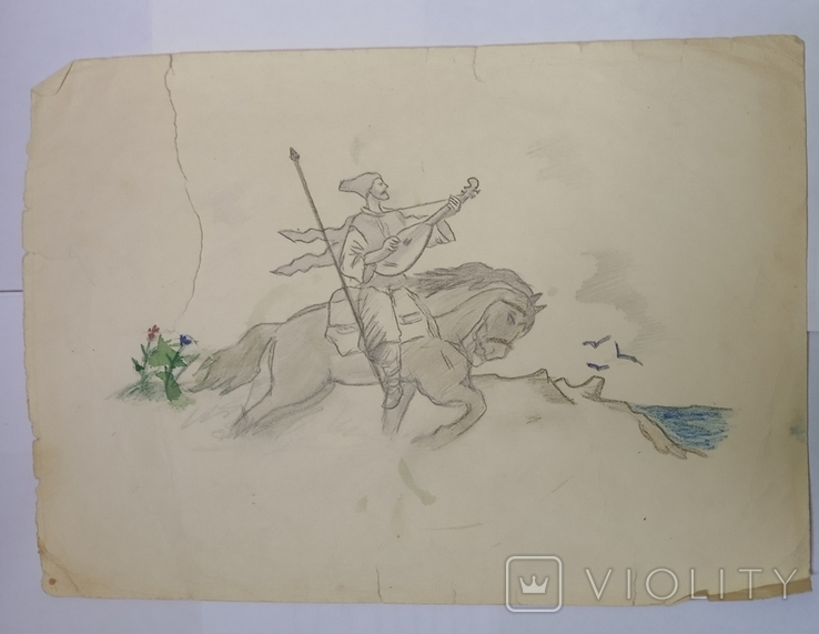 Рисунки карандашом СССР., фото №4