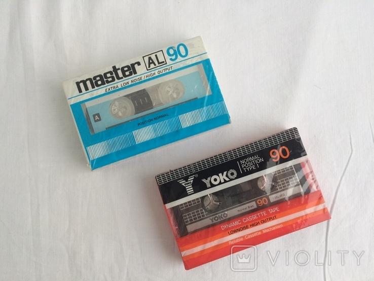 Две Аудиокассеты Master, Yoko, фото №4