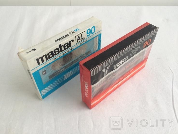 Две Аудиокассеты Master, Yoko, фото №2