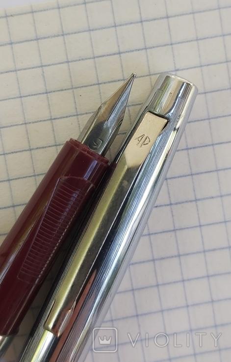 Ручка перьевая времен СССР новая, фото №6
