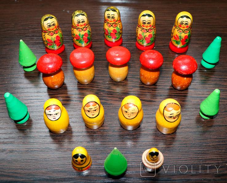 Деревянные фигурки СССР, фото №3
