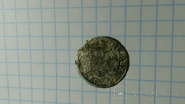 Литовский грош Сигизмунда ІІІ 1262год, фото №5