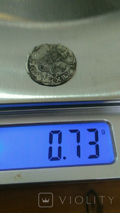 Литовский грош Сигизмунда ІІІ 1262год, фото №6