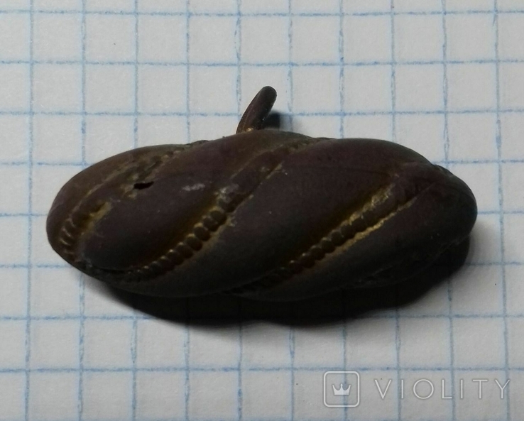 Гусарская пуговица Оливка, фото №3