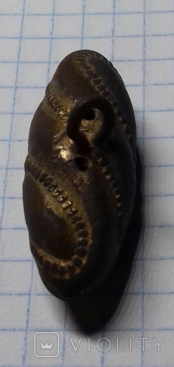 Гусарская пуговица Оливка, фото №5