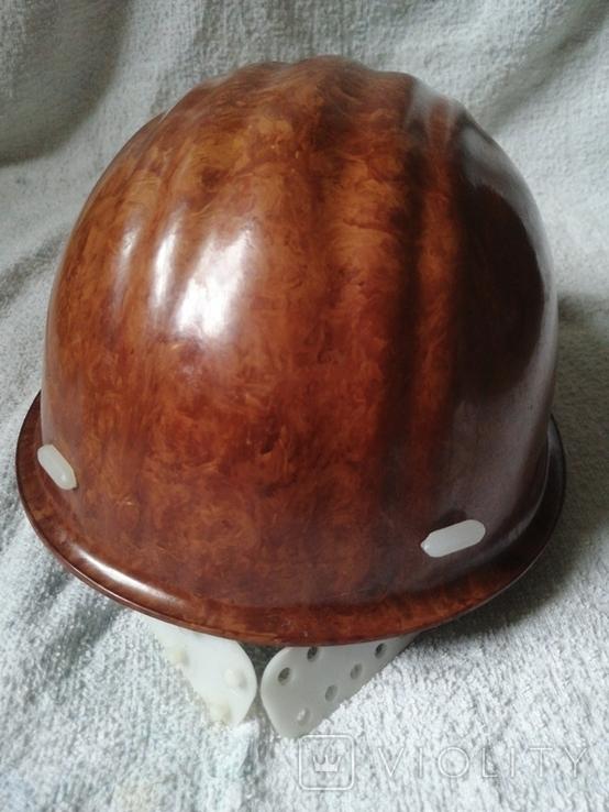 Каска шахтёра Донбасс.Клеймо., фото №7