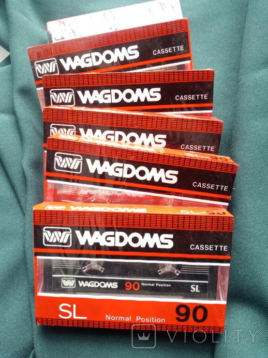 Касети Wagdoms 90 6 шт, фото №3