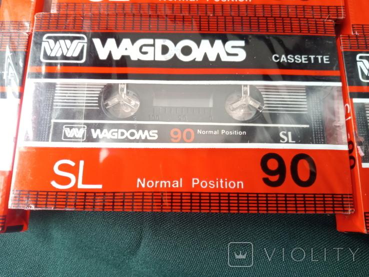 Касети Wagdoms 90 6 шт, фото №6