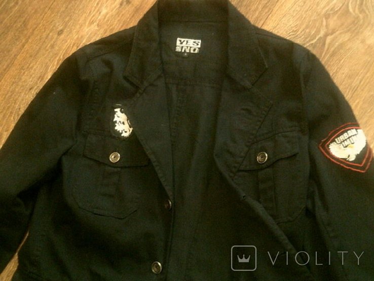 Urban Gremini - черный китель куртка разм.L, фото №3