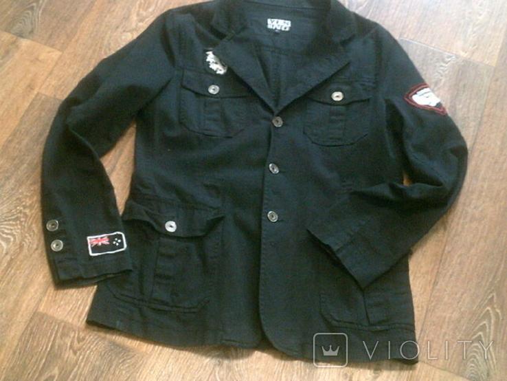 Urban Gremini - черный китель куртка разм.L, фото №2