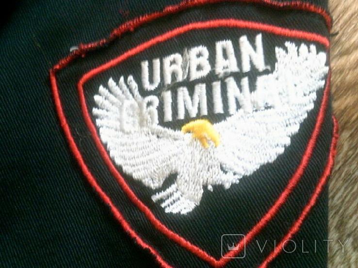 Urban Gremini - черный китель куртка разм.L, фото №4