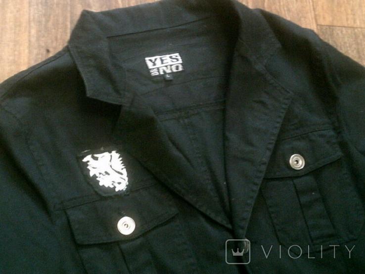 Urban Gremini - черный китель куртка разм.L, фото №7