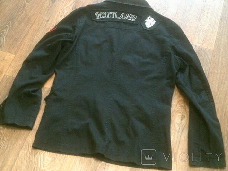 Urban Gremini - черный китель куртка разм.L, фото №8