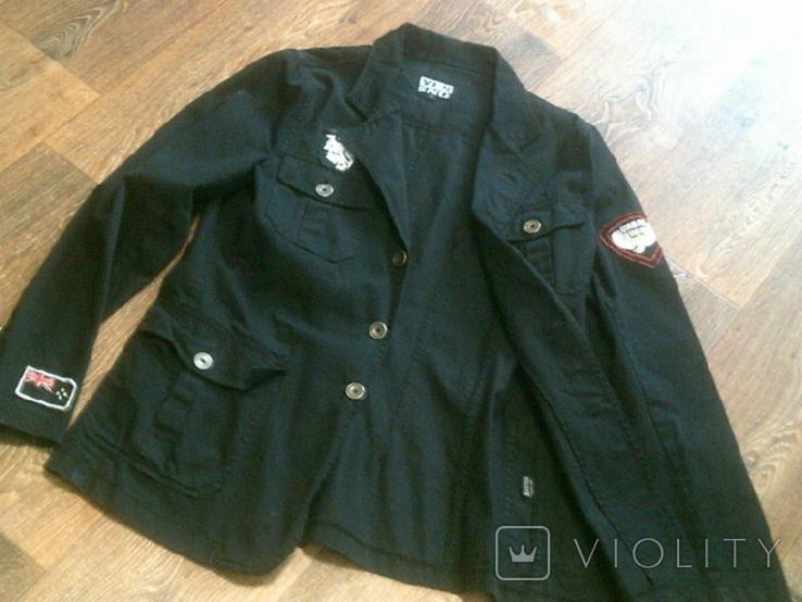 Urban Gremini - черный китель куртка разм.L, фото №11