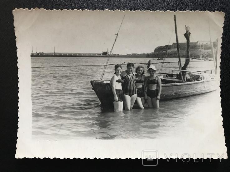 Одесса Берег Пирс Лодка, фото №2