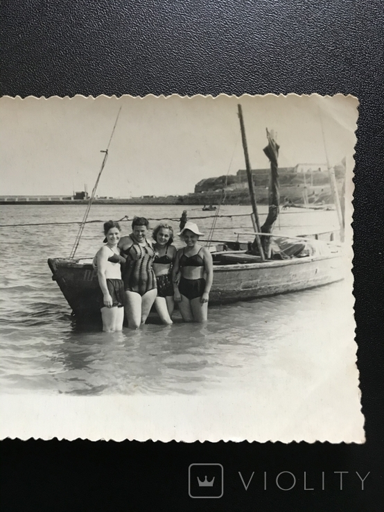 Одесса Берег Пирс Лодка, фото №3