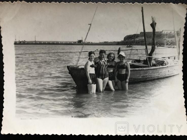 Одесса Берег Пирс Лодка, фото №6