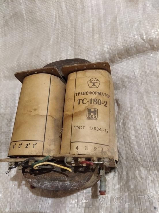 Трансформатор тс180-2, фото №2