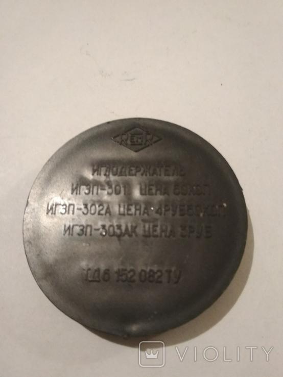 Иглодержатель и щётка для пластинок. СССР., фото №3
