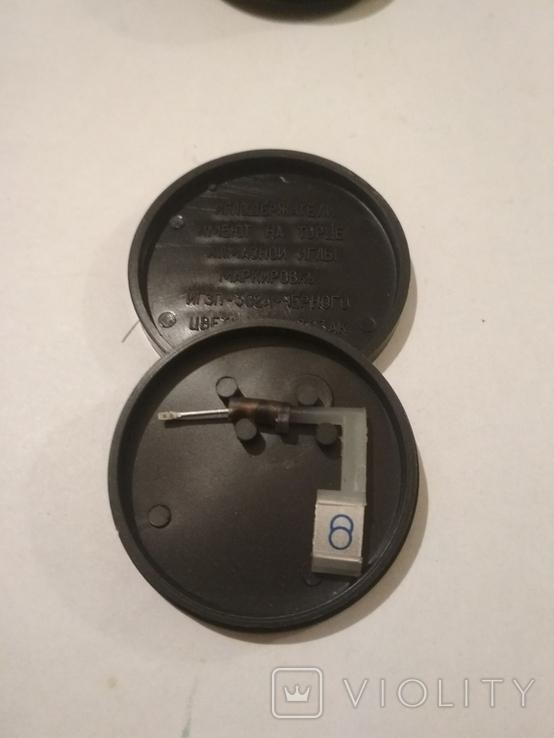 Иглодержатель и щётка для пластинок. СССР., фото №5