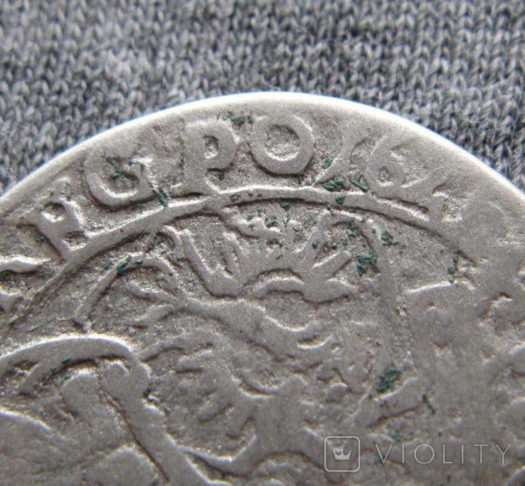 Шестак 1626 года. Сиг. ІІІ Ваза ( GROSS ... PO )., фото №4