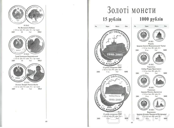 Каталог Монеты Белоруссии, Молдовы и Приднестровья, фото №8