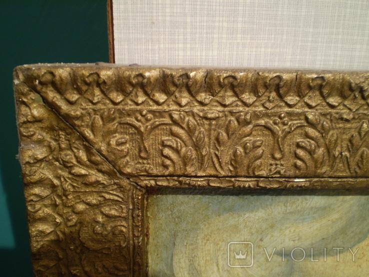 Старая копия картины Васнецова. Три богатыря., фото №10