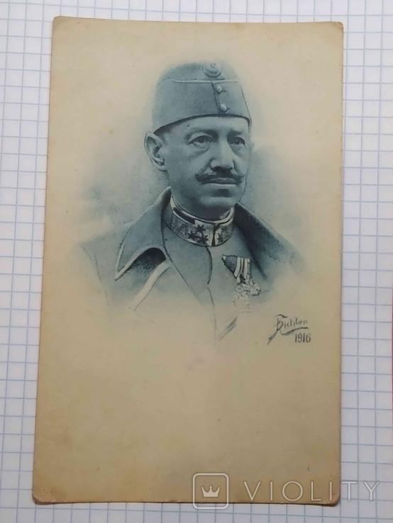Листівка: Австро-Угорщина, портрет генерала від інфантерії, 1916., фото №2