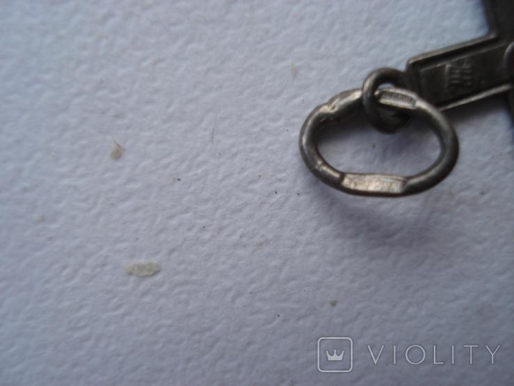 Крестик. Серебро 925 звезда., фото №4