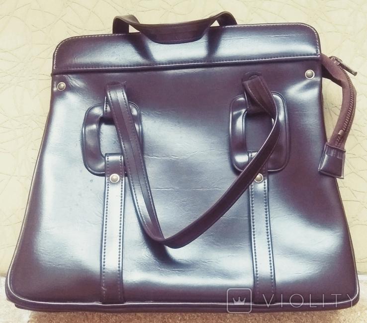 Винтажная сумка СССР новая (торг), фото №2
