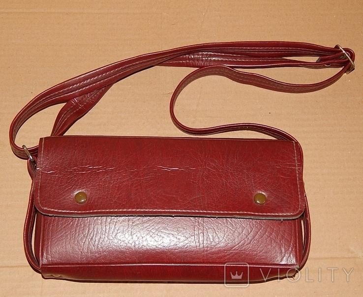 Винтажная сумка СССР для переноски и хранения 6 кассет, фото №12