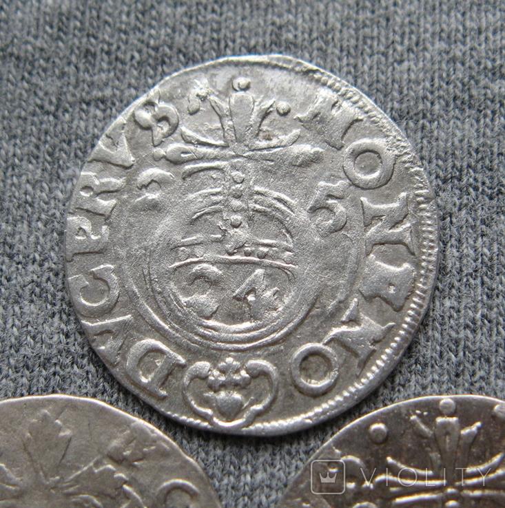 1/24 талера 1600-х годов. Георг Вильгельм. Пруссия ( 3 штуки )., фото №5