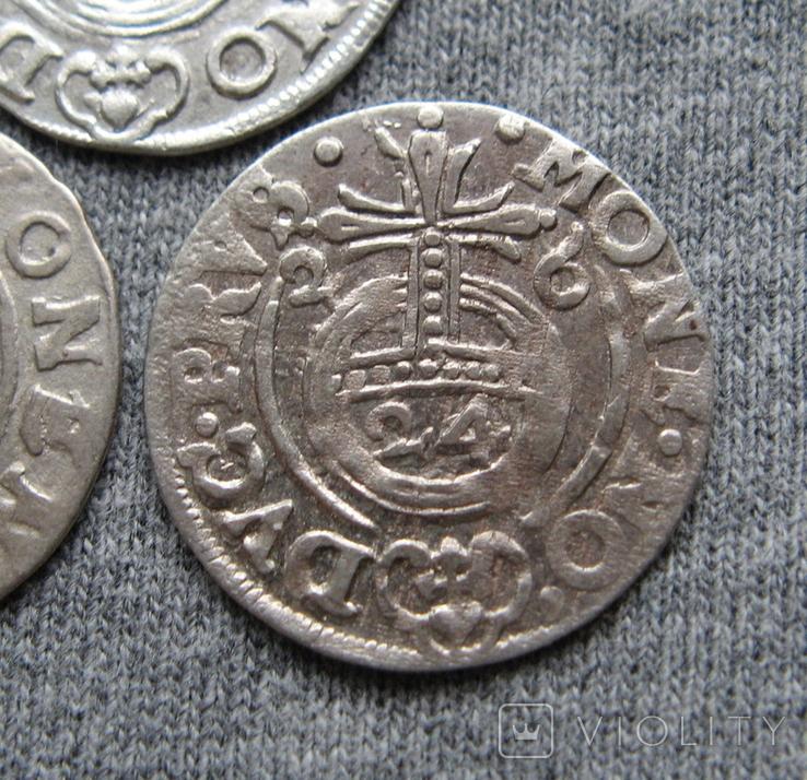 1/24 талера 1600-х годов. Георг Вильгельм. Пруссия ( 3 штуки )., фото №6