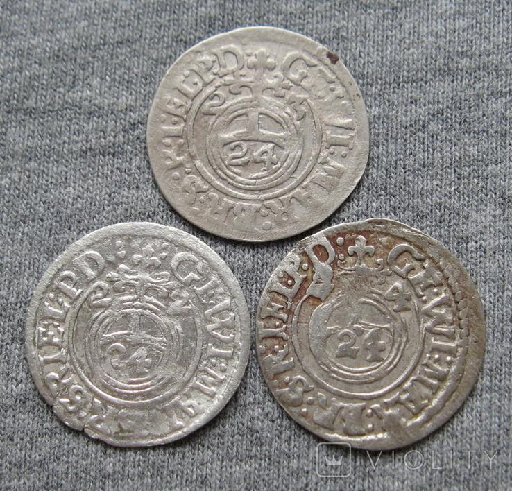 1/24 талера 1600-х годов. Георг Вильгельм. Пруссия ( 3 штуки )., фото №10