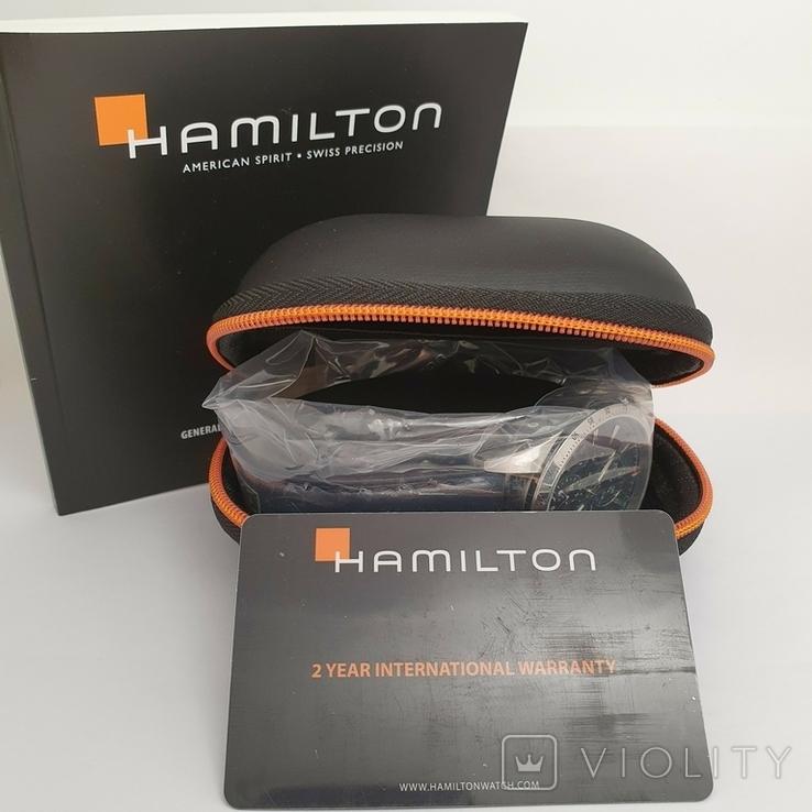 Новые Hamilton Broadway Day Date Auto Chrono H43516641, фото №12