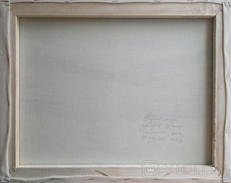 Картина, Фарби літа, 50х40 см. Живопис на полотні, фото №4