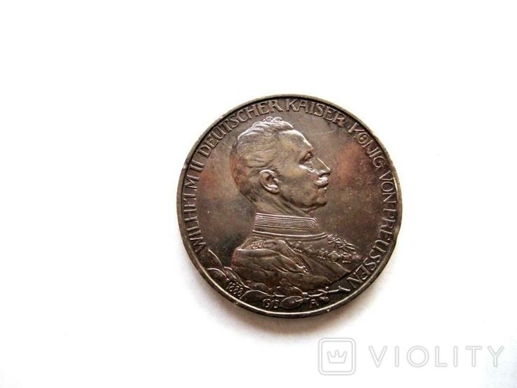 3 марки 1913 р. Прусія, фото №3