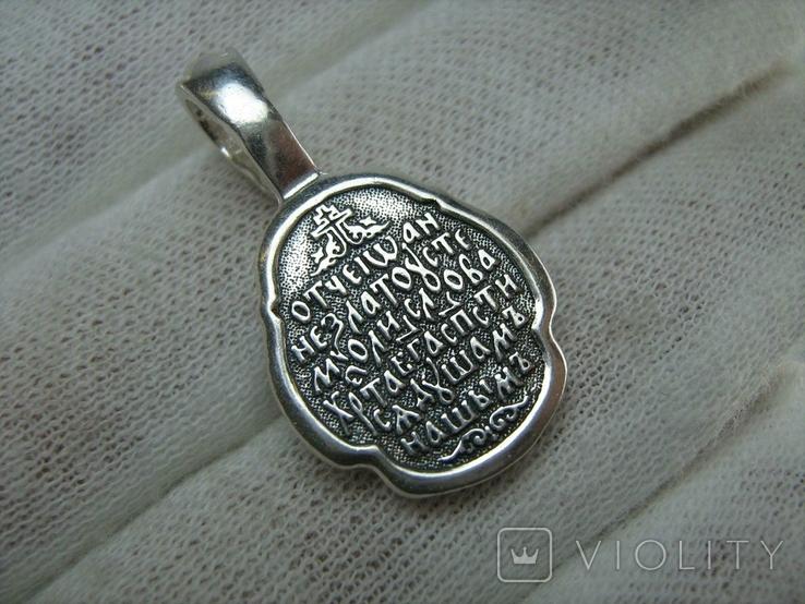 Новый Серебряный Кулон Подвеска Ладанка Иоанн Иван Златоуст Серебро 925 проба 699, фото №3